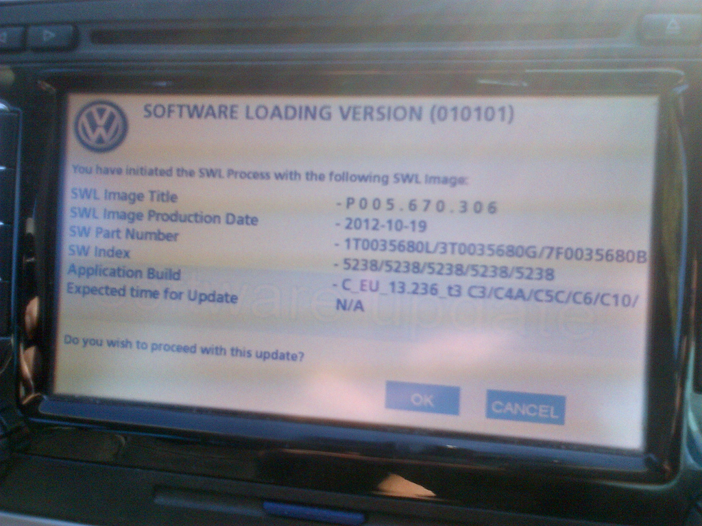 Upgrading firmware and maps on VW RNS 510 SatNav | Notes from a Nerd